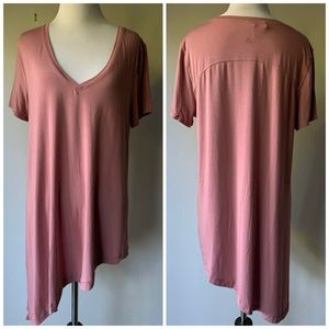 Lululemon Silk Blend Asymmetrical Top